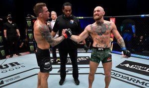 poirier mcgregor after fight