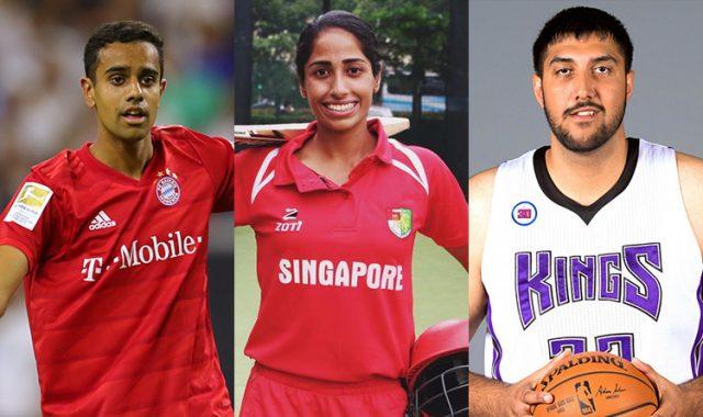 Athletes of Indian Diaspora