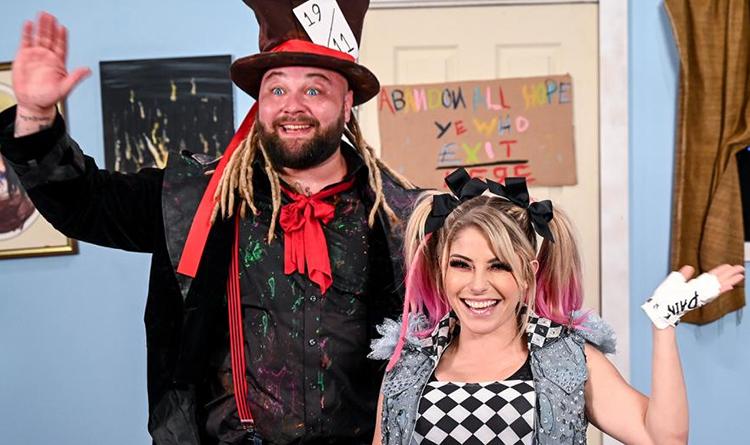 Bray Wyatt and Alexa Bliss