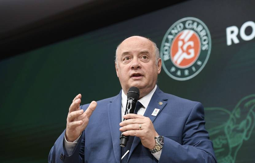 830x532 president federation francaise tennis fft bernard giudicelli 26 mai 2017 roland garros