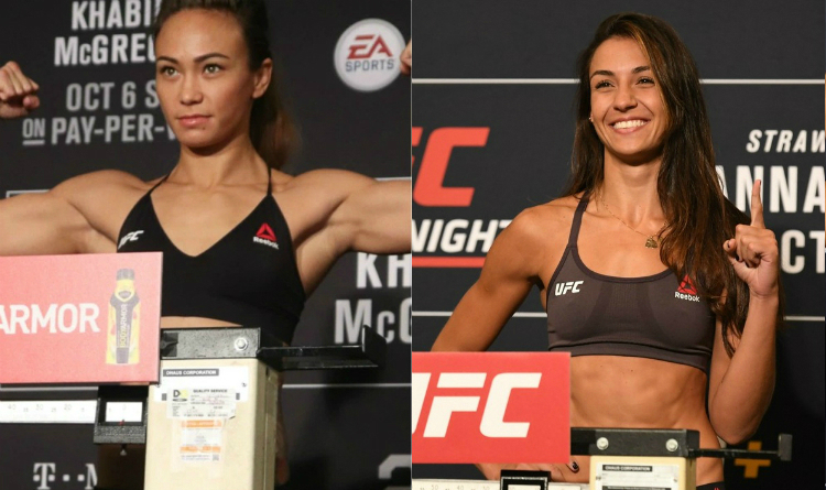 Michelle Waterson Amanda Ribas