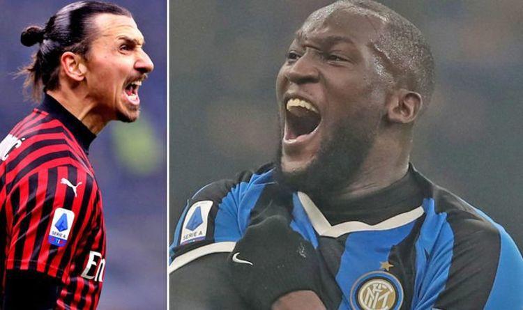 The main attacking force: Zlatan Ibrahimovic and Romelu Lukaku