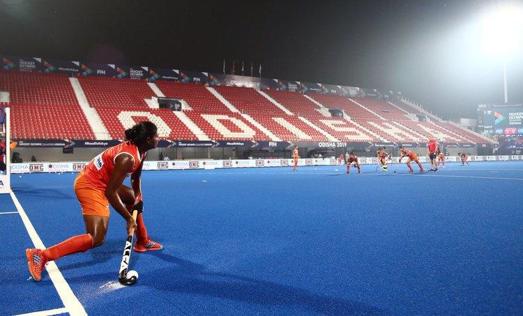 India's women's national hockey team