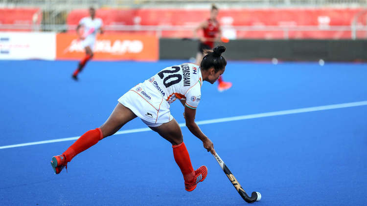 India's national women's hockey team