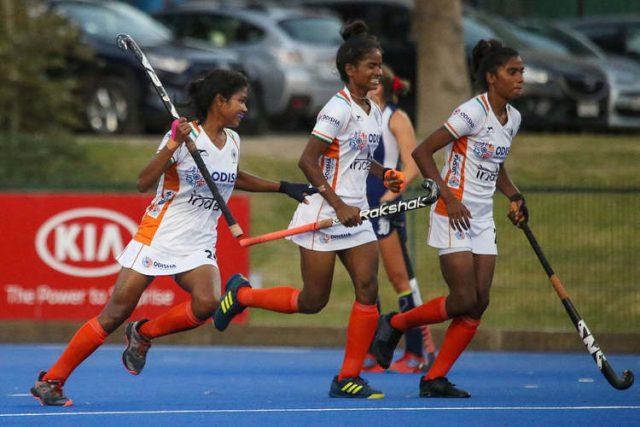India's women's youth hockey team failed to win