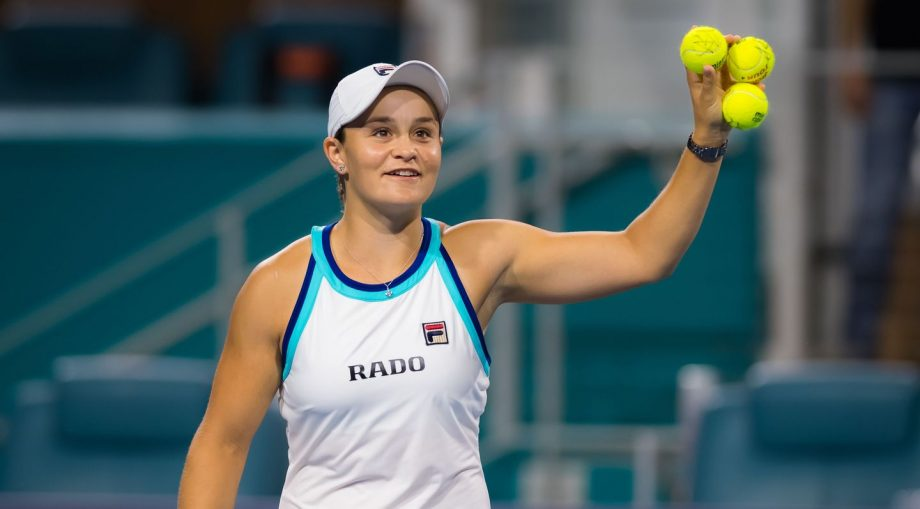 Ashley Barty in 2019 WTA matches