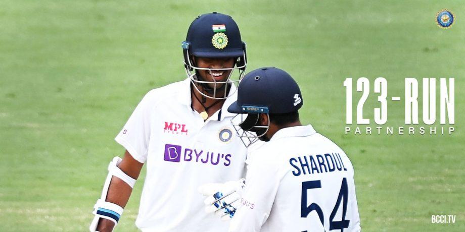 Washingon Sundar and Shardul Thakur