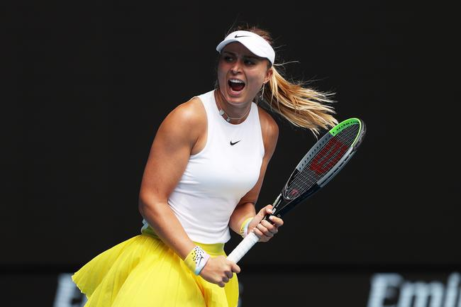 Paula Badosa at Australian Open