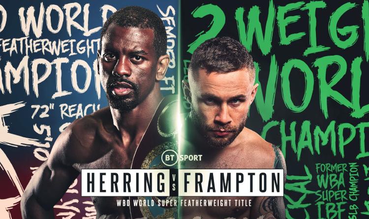 Jamel Herring vs Carl Frampton