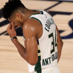 Bucks Player Giannis Antetokounmpo
