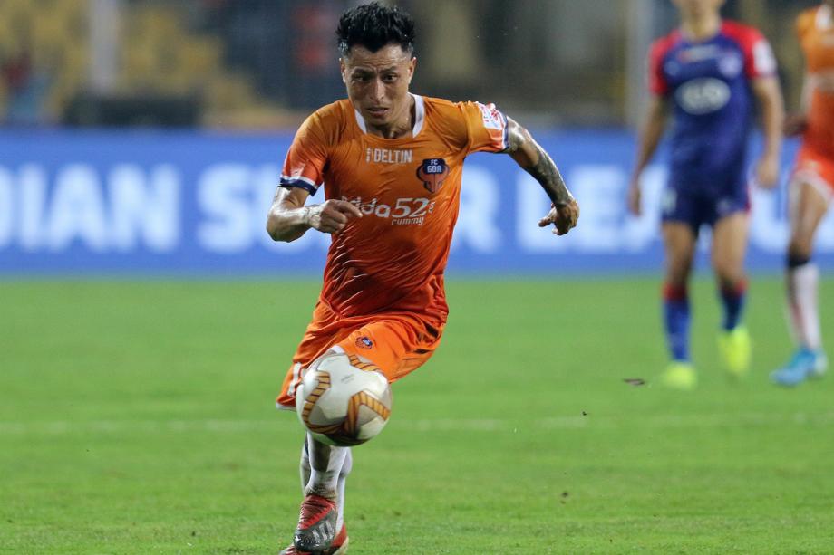 Jackichand Singh in an FC Goa jersey