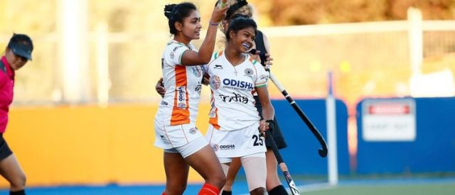 the Indian women's youth hockey team