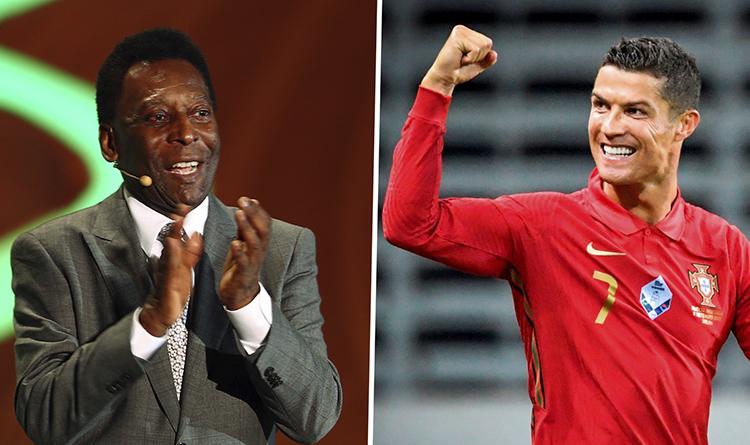 Edson Arantes and Cristiano Ronaldo