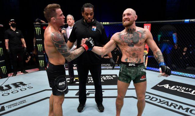 Dustin Poirier knocked Conor McGregor