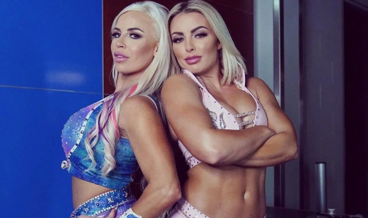 Mandy Rose and Dana Brooke