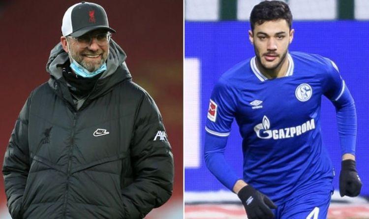 Jurgen Klopp and the newcomer Ozan Kabak