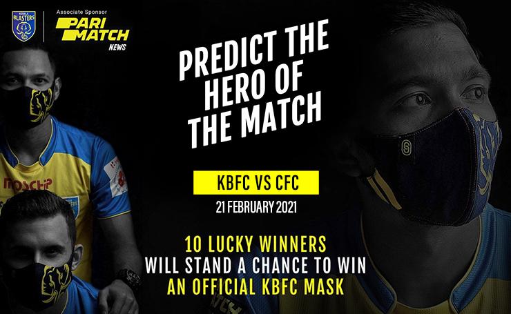 Predict the Kerala Blasters FC vs Chennaiyin FC