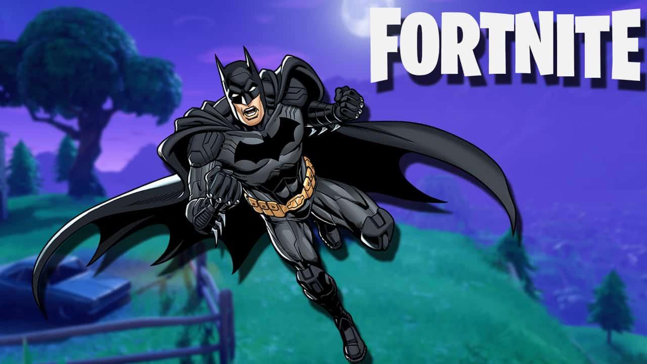 The Batman skin in Fortnite