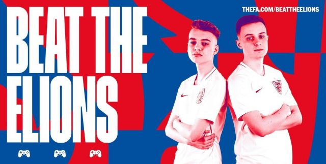 """""""Tekkz"""" and """"Hashtag Tom"""" in the England team"""