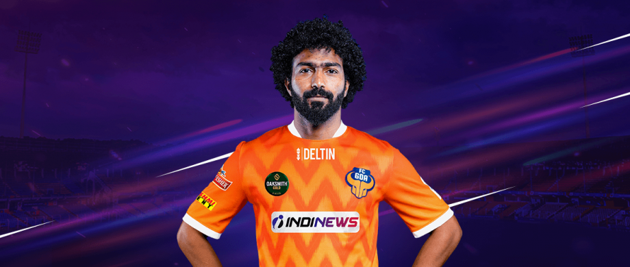 Glan Martins in an FC Goa jersey