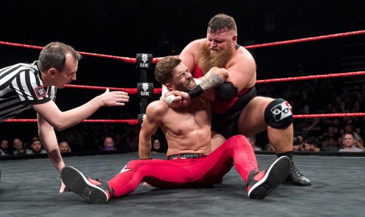 Mastiff choking Devlin
