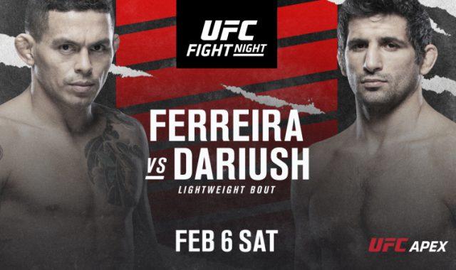 Ferreira vs Dariush