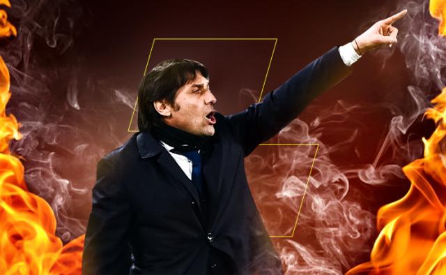 Inter head coach Antonio Conte