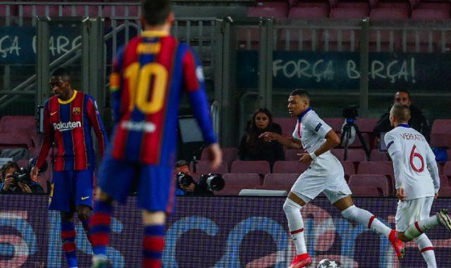 PSG turn the second leg against Barcelona