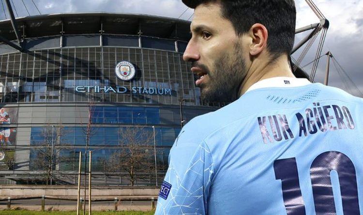 Sergio Aguero s the club's record goalscorer
