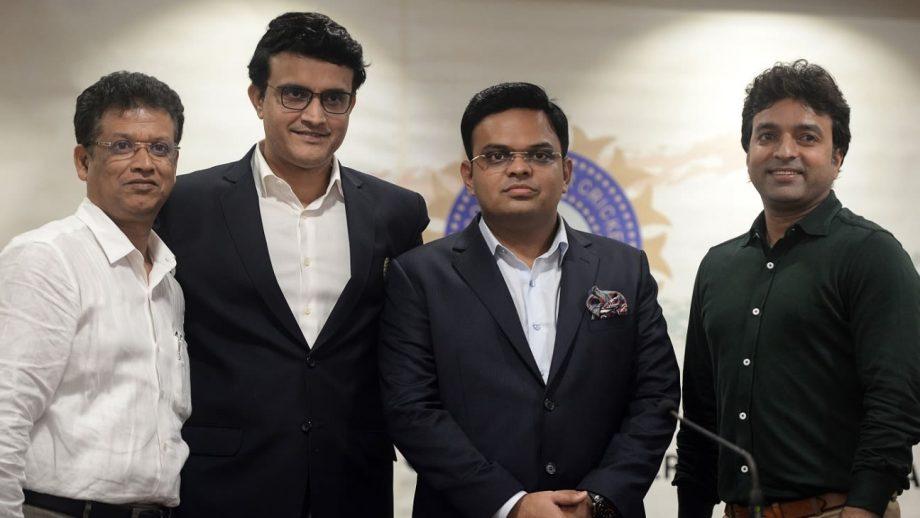 The BCCI president Saurav Ganguly and Secretary, Jay Shah