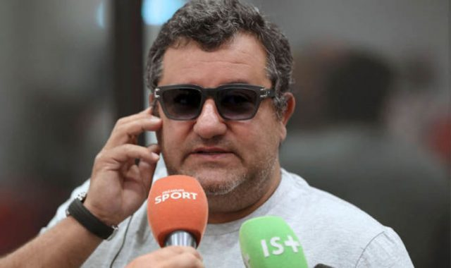 Mino Raiola, one of the most famous football agents