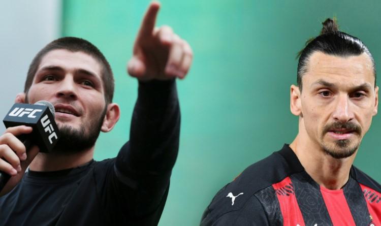 Khabib Nurmagomedov reveals what Zlatan Ibrahimovi