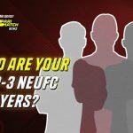 TOP 3 NEUFC Players