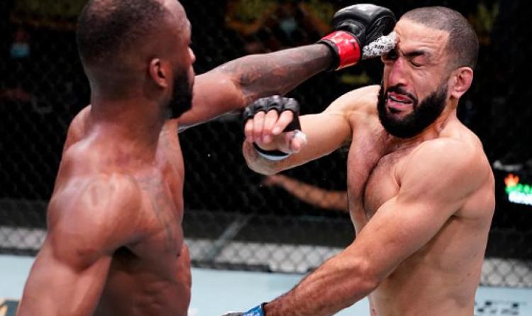 Edwards poking Muhammad in the eye