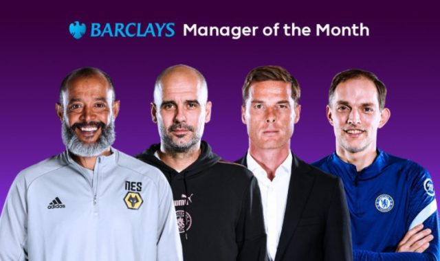 Candidates for the Premier League Manager of the Month prize