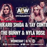 Shida & Conti to fight against The Bunny & Rose