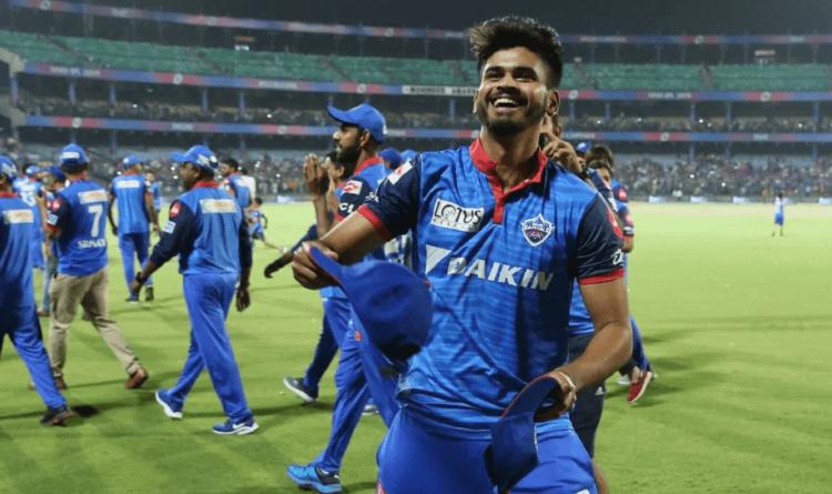 Shreyas Iyer during the Indian Premier League