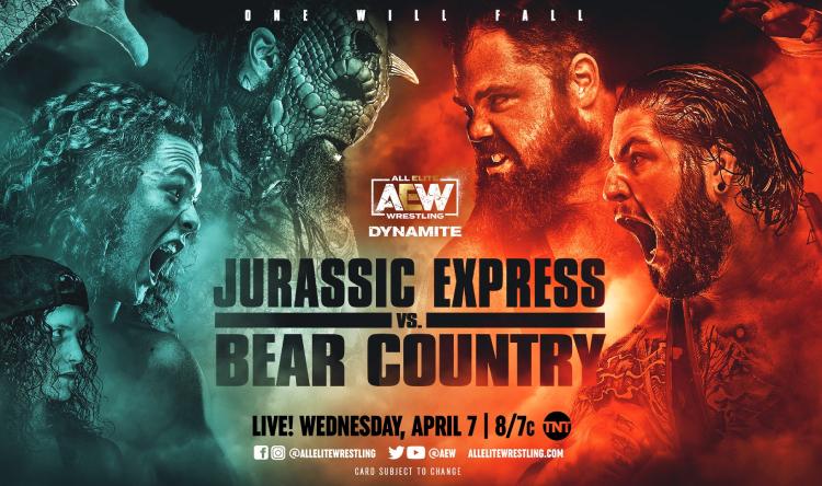 jurassic express bear country dynamite