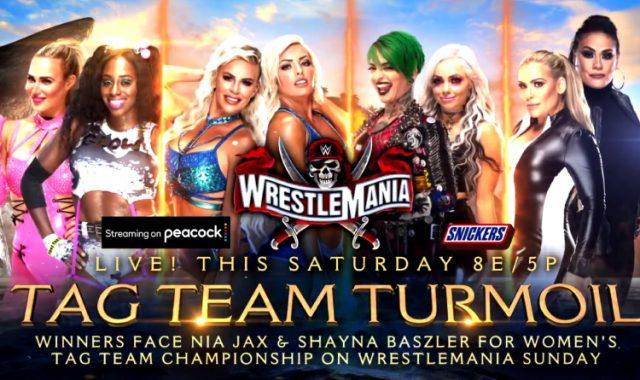 tag team turmoil wrestlemania 37