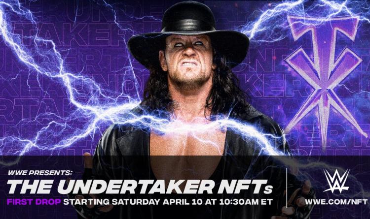 wwe nfts undertaker