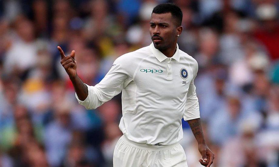 Hardik Pandya Test cricket