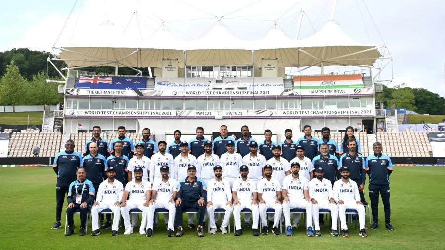 The Indian squad