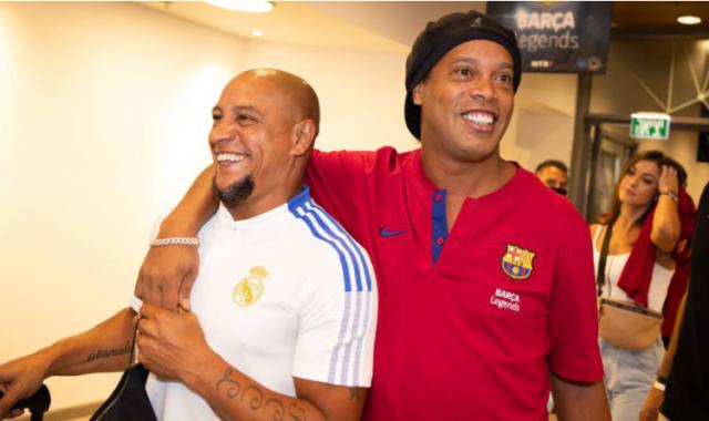 Carlos and Ronaldinho