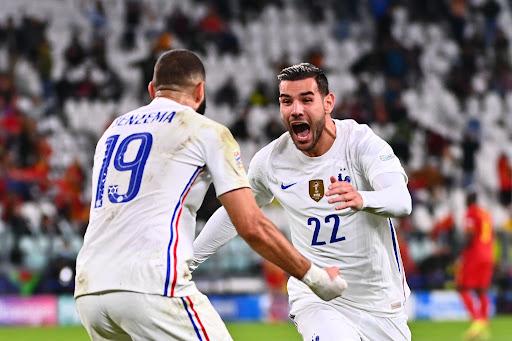Theo Hernandez, Karim Benzema